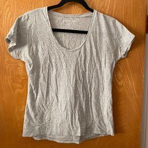 Everlane U-neck 100% Pima cotton tee XS